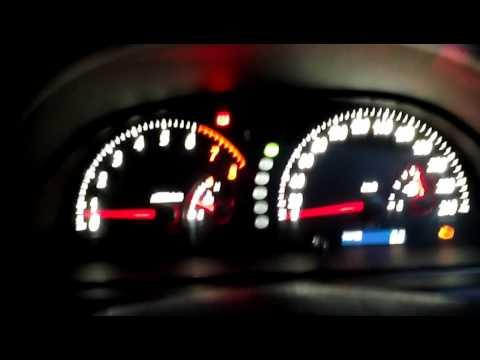Пересвет приборной панели Toyota Camry ACV30 от OZIP