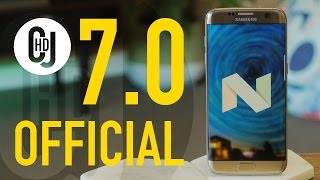 Samsung Galaxy S7 (Edge) Android 7.0 Nougat Update (FINALLY!)