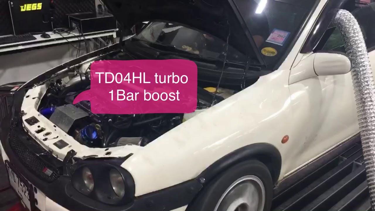 Corsa B X16XE turbo 278whp - YouTube