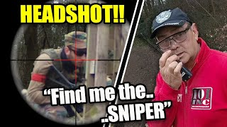 Airsoft Ghillie Sniper Reported For HEADSHOTS