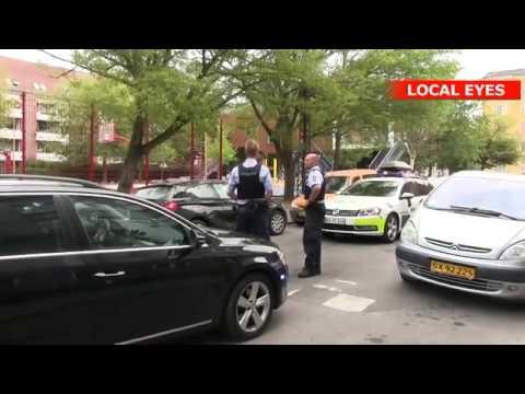 En anholdte efter dramatisk biljagt på Nørrebro