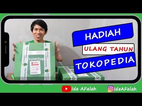 Hadiah Ulang Tahun Tokopedia 9 - Unboxing Ide AFalah Mp3