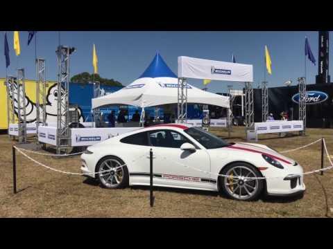 Porsche 911 R & 911 RSR Walkaround 12 Hours of Sebring (4k)