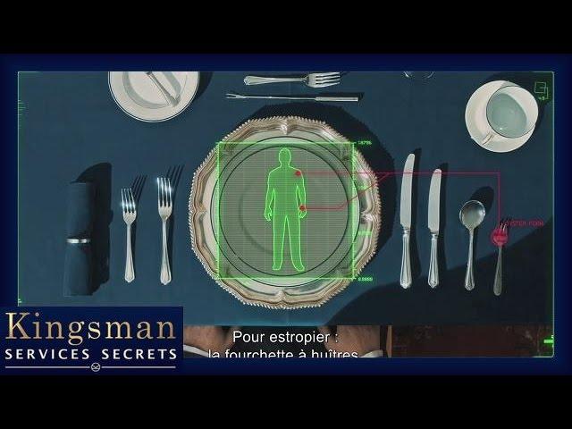 Kingsman - Comment devenir un Agent : Les Ustensiles appropriés VOST HD
