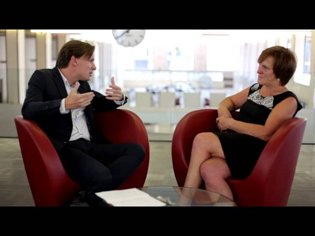 Bruno Vanobbergen en Claire Wiewauters over bezoekruimtes