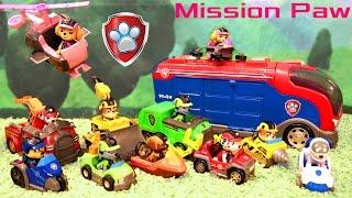 Щенячий Патруль на русском - Миссии Щенков. Paw Patrol - Mission Paw Rescue Vehicles Exclusive.