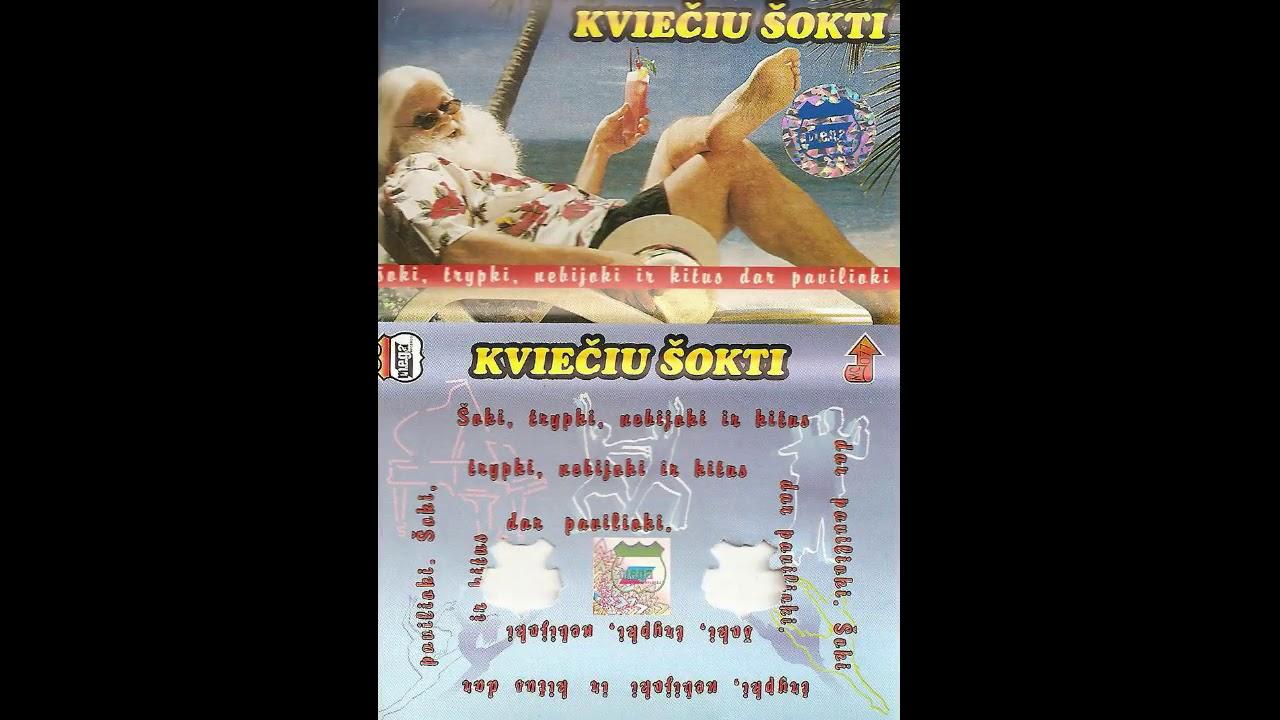 Kviečiu šokti [1995] - Legendinių 80-ųjų hitų perdainuotų lietuviškai rinkinukas