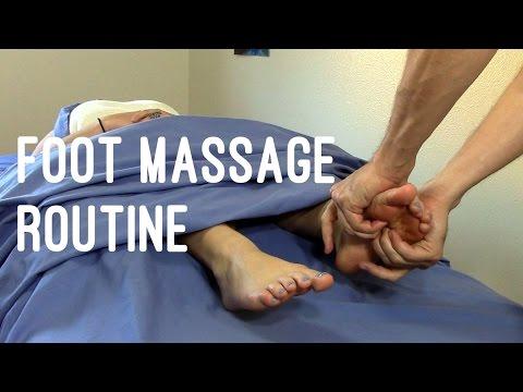 Massage Tutorial: Deep tissue foot massage techniques