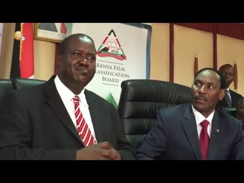 KFCB and COFEK sign an MoU to enforce compliance of content distribution guidelines