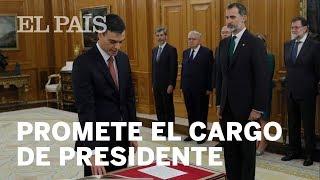 MOCIÓN DE CENSURA | Toma de posesión de Pedro Sánchez | España