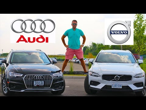 2019 Volvo V60 Cross Country VS Audi A4 Allroad Wagon | Which Wagon Is The Best?