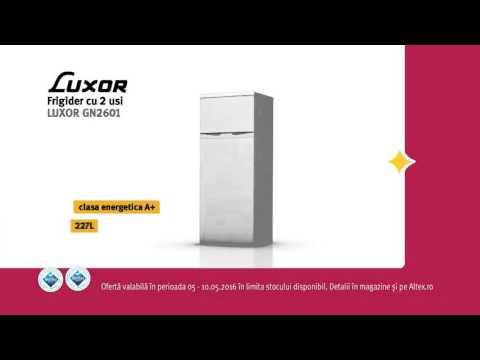 Reclamă ALTEX - Frigider LUXOR - mai 2016