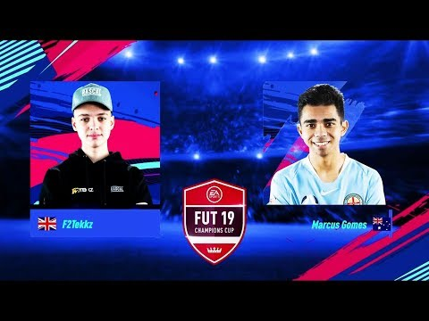F2TEKKZ VS MARCUS GOMES! FUT CHAMPIONS CUP MARCH!