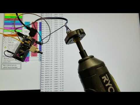 Testing 32bit MCU for Quadrature encoder capture #2