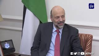 رئيس الوزراء يؤكد حرص الحكومة على تعزيز العلاقات بين الأردن وقطر (7/10/2019)
