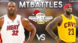 ALL TIME MIAMI HEAT VS ALL TIME CAVS! CAN WE FINISH UNDEFEATED? NBA 2K17 MTBATTLES