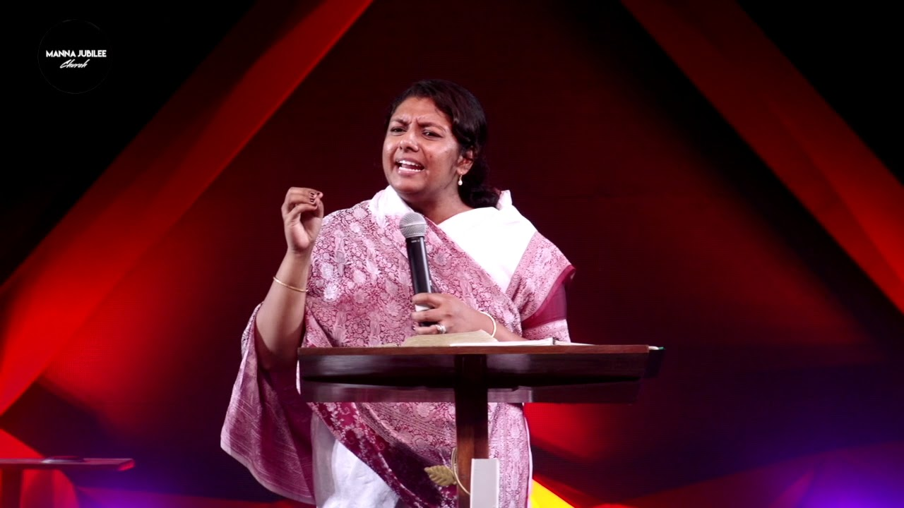 Ps Esther Thathapudi Telugu Message { Manna Jubilee Church }