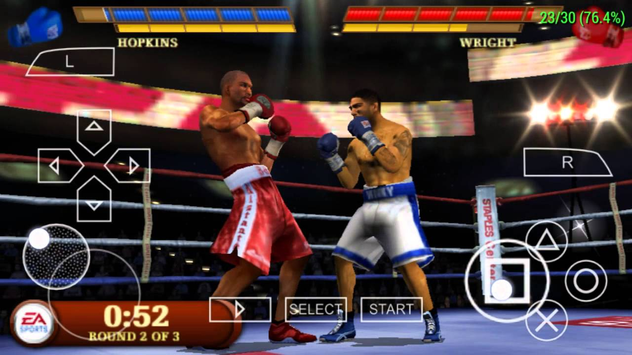 fight night round 3 psp iso free download