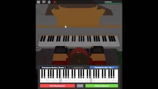 Jigoku Shoujo Futakomori - Aizome on a ROBLOX piano.