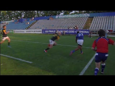 Samoa star Leilua makes impossible acrobatic try finish!