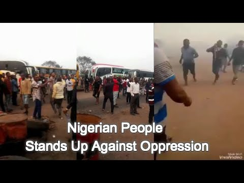 Army & Police On The Run As People Rise To End Oppression