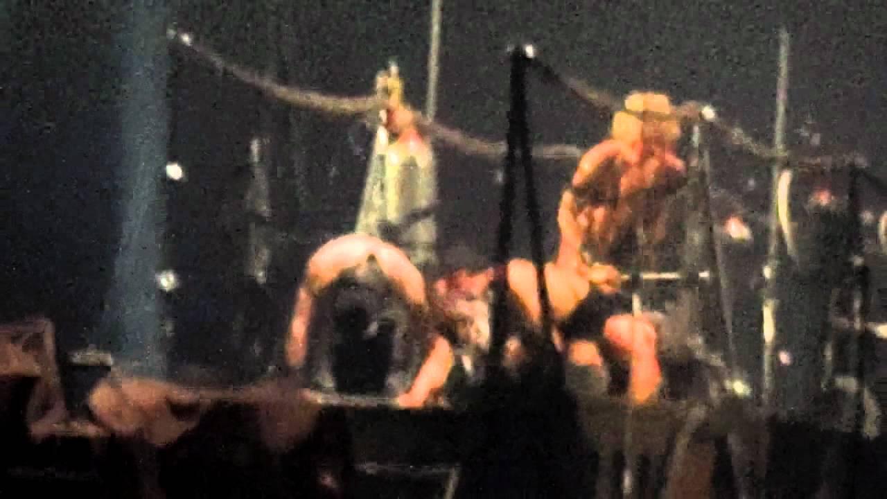 Rammsteins richard kruspe interacting with crowd at beginning of rammsteins richard kruspe interacting with crowd at beginning of buck dich chicago 5 4 12 youtube m4hsunfo Choice Image