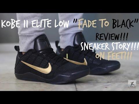 "Nike Kobe XI FTB ""Fade to Black"" Review & On Feet"