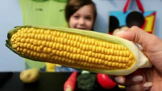 Fun Learning Names of Vegetables with Toys Education videos Fun for Kids