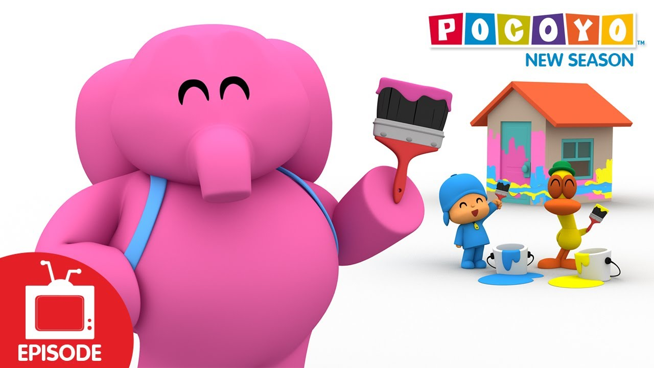 Pocoyo - House of Colors (S04E11) NEW EPISODES - YouTube