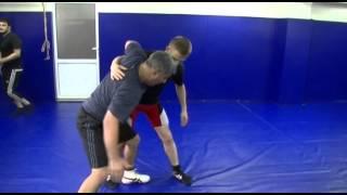 Приемы борьбы (броски с обоюдного захвата).freestyle wrestling training(Так же эти приемы можно использовать в качестве контратаки при выталкивании противником за ковер. Спаринг..., 2014-05-28T20:41:08.000Z)