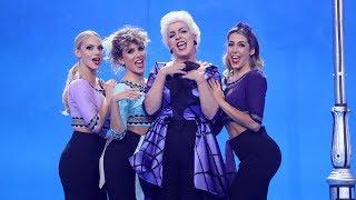 Belinda Washington imita a Madonna en 'True blue' - Tu Cara Me Suena