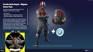 FORTNITE STARTER PACK: COPILOT HOW TO PICK UP AND STILL WIN 600 V-BUCKS