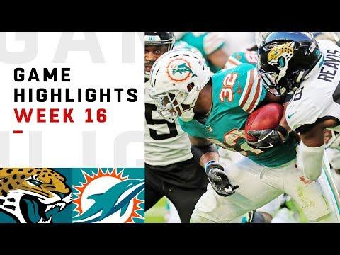 Jaguars vs. Dolphins Week 16 Highlights | NFL 2018
