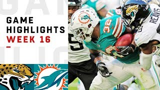 Jaguars vs. Dolphins Week 16 Highlights