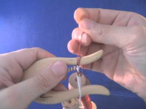 Bicolor lucet - kaksivärinen haarukkanyöri