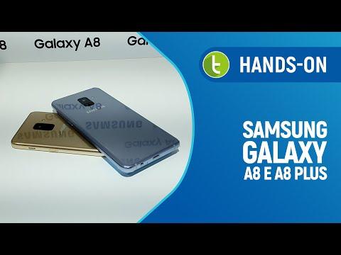 Samsung Galaxy A8 e A8 Plus: hands on e primeiras impressões | TudoCelular.com