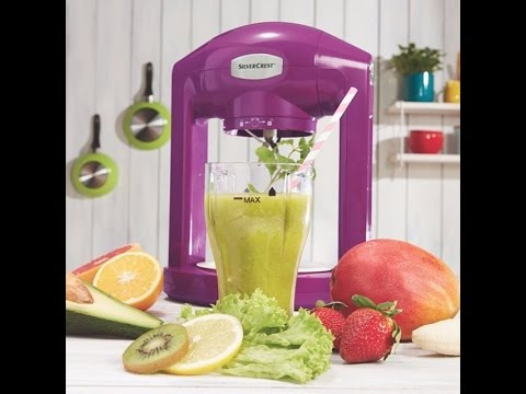 Silvercrest Smoothie Mixer Ssm 175 B2 Youtube