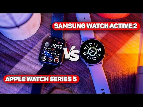 Apple Watch Series 5 vs Samsung Galaxy Active 2: битва лучших!