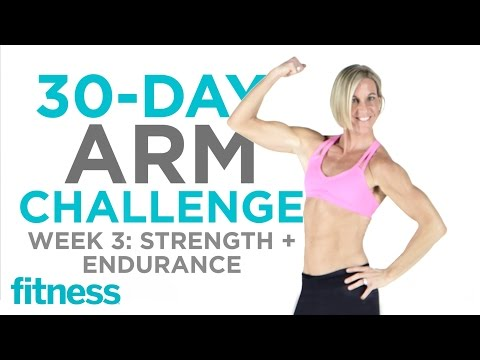 Arm Challenge: Endurance + Strength | Fitness