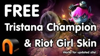 FREE Riot Girl Tristana Skin & Champion instantly! (Updated 2014)