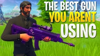 The Best Weapon You Aren't Using (Fortnite In Depth: Scoped Assault Rifle Guide)