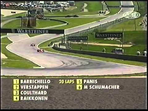 Murray Walker about Raikkonen (A1 Ring 2001)