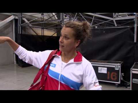 "Fed Cup ""Cribs"" with Barbora Strycova and Karolina Pliskova"