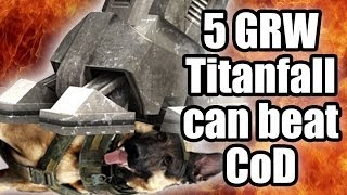 Five good reasons why - Titanfall can beat Call of Duty