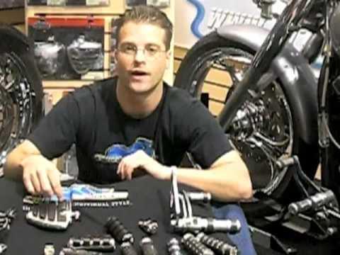 Motorcycle Footpegs - Before you Buy - Video Guide Tip of the Week