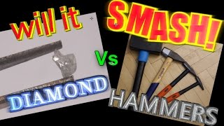 Hammer vs DIAMOND: Will it smash?