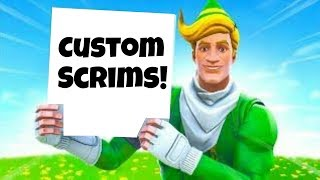 (NA-WEST) FORTNITE CUSTOM MATCHMAKING SOLO SCRIMS!!! ALL PLATFORMS!!!! (Be nice)