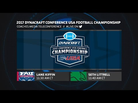 2017 #CUSAFB Championship: Coaches Media Teleconference