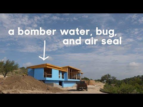 Waterproofing With Fluid Applied Weather Barrier