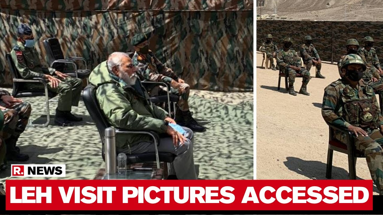 PM Modi's Leh Visit: First Pictures Accessed